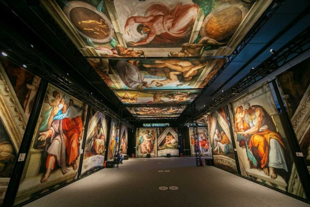A Stunning Exhibit Of Michelangelo's Sistine Chapel Frescoes Is Coming To Nashville